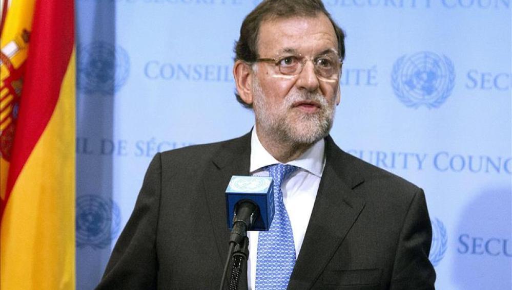 Mariano Rajoy en la ONU