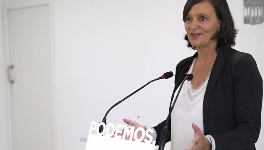 Carolina Bescansa, secretaria de Análisis de Podemos.
