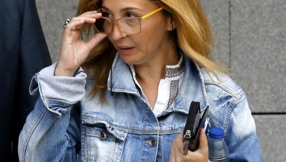 Maica Jiménez, secretaria del presunto cabecilla de la trama Gürtel, Francisco Correa
