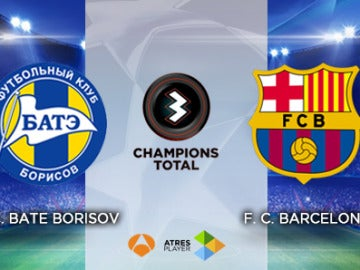 BATE Borisov - FC Barcelona en Antena 3 y Atresplayer