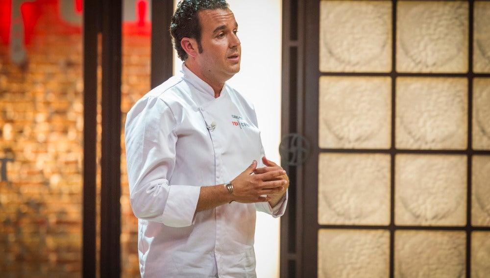 Carlos es el quinto expulsado de Top Chef