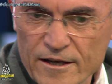 Paco García Caridad, en 'El Chiringuito de Mega'.