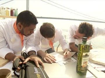 Álex, Marcel y Oriol