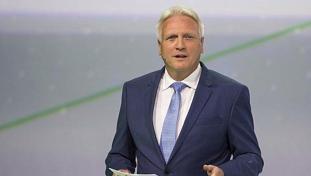 Winfried Vahland, jefe de Skoda Auto.