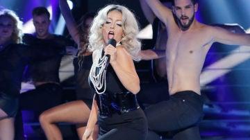 Ruth Lorenzo imita a Lady Gaga