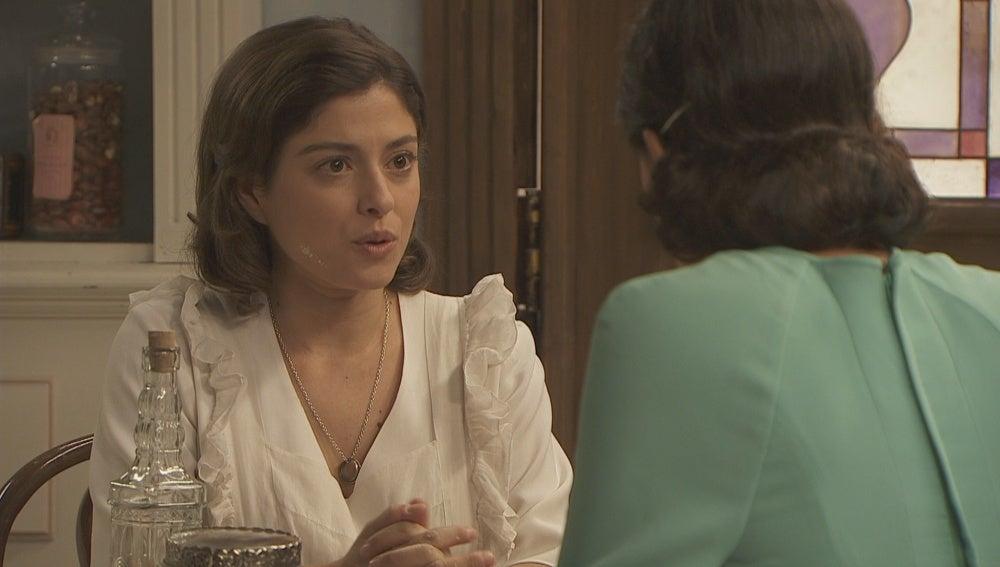 Melisa y Candela tienen una conversación pendiente