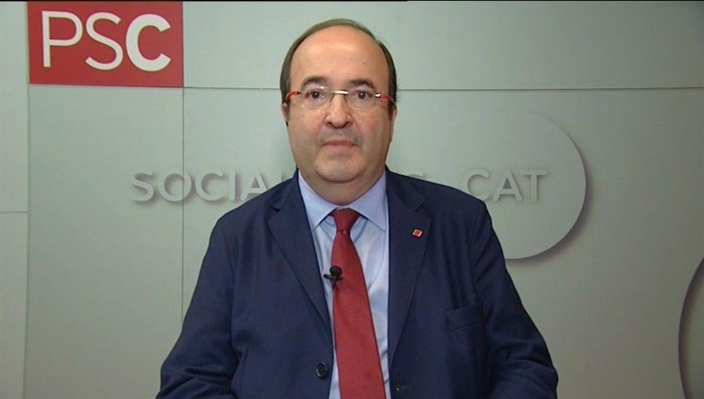 Miquel Iceta, en Espejo Público