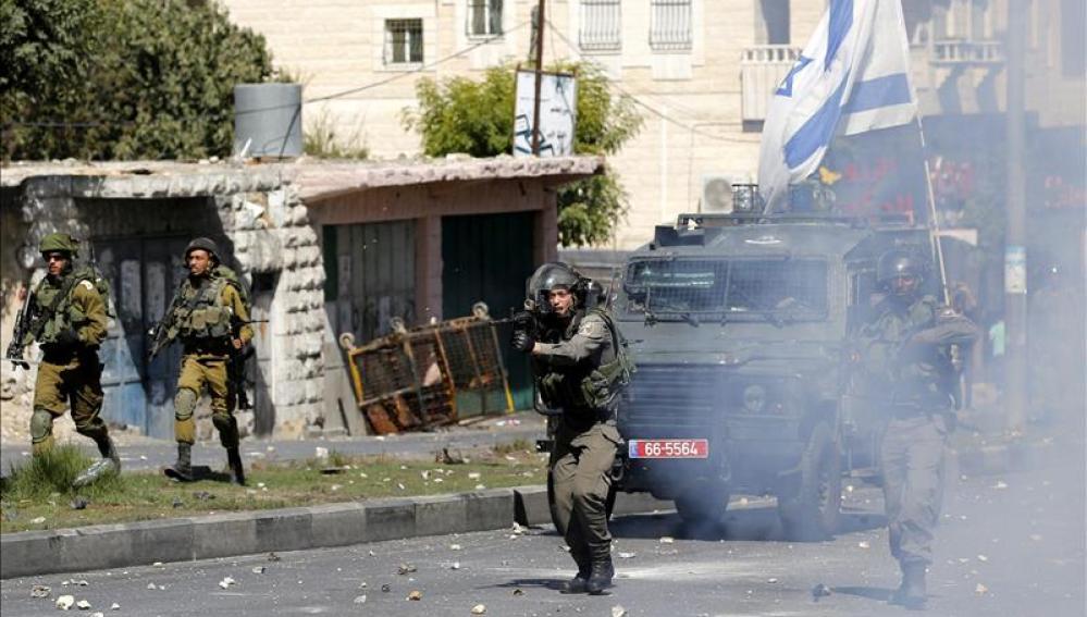 Nuevo intento de apuñalamiento en una base de la guardia fronteriza israelí en Hebrón