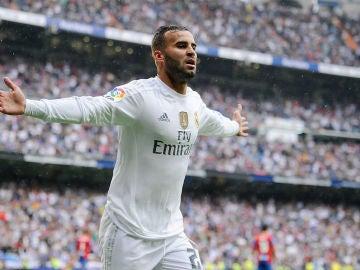 Jesé celebra un gol ante el Levante
