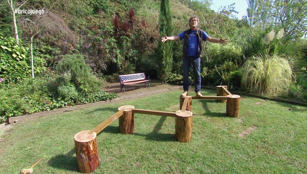 Bricomanía construye un juego de equilibrio