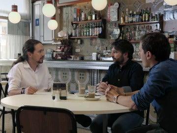 Debate entre Pablo Iglesias y Albert Rivera en Salvados