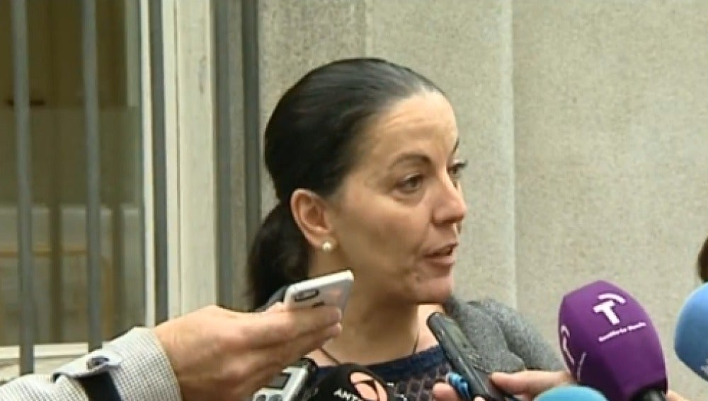 La senadora del PP, Juliana Fernández Cueva