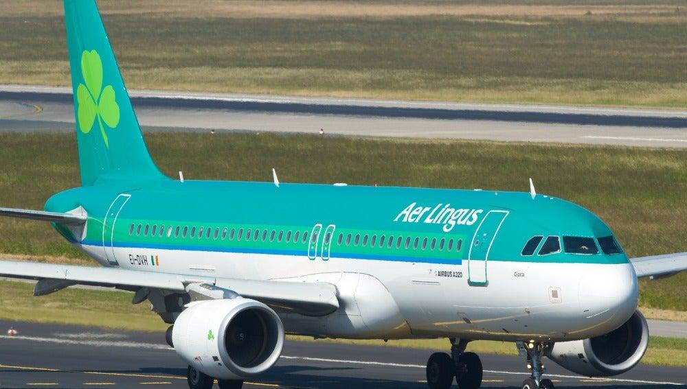 Avión de la compañía Aer Lingus