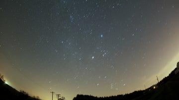 Lluvia de estrellas de las Oriónidas