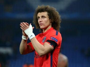 David Luiz, central del PSG