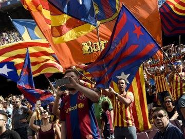 Esteladas Barça