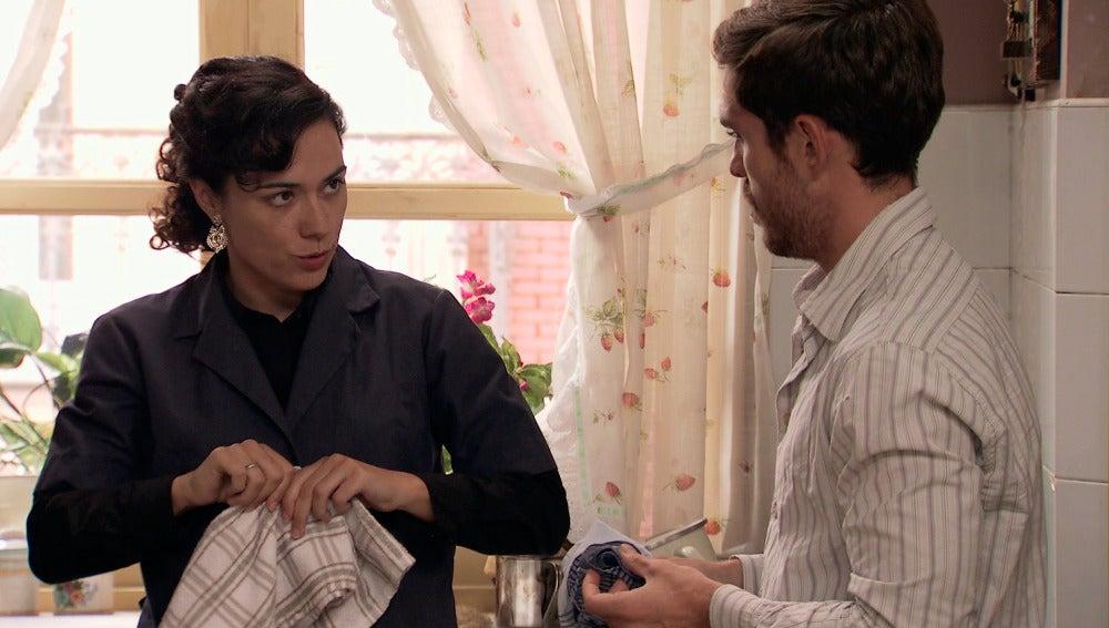 Pepa pide a Toni que marque las distancias con Carmen