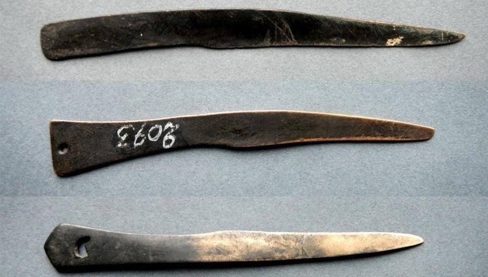 Cuchillos quirúrgicos de Siberia