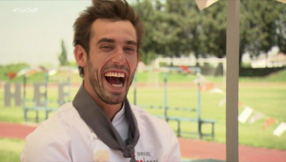El freestyle de Oriol desespera a sus compañeros