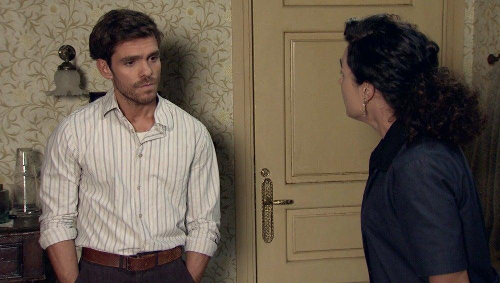 Toni, a punto de confesar su traición a la familia Montilla