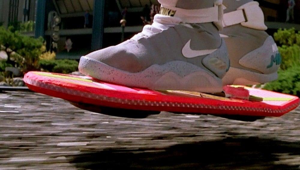 El patinete aerodeslizador de 'Regreso al Futuro'.