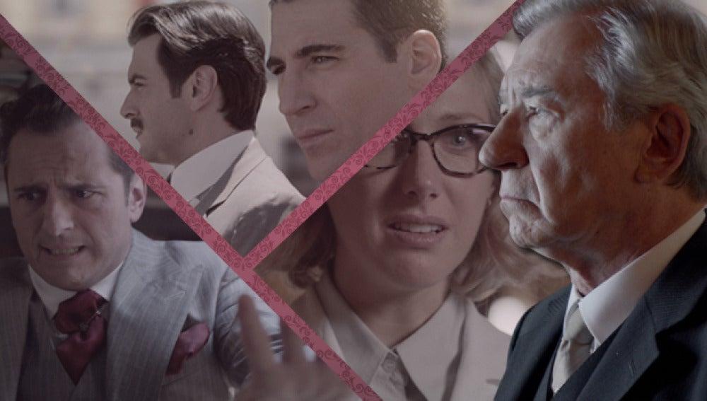 Rita, Emilio, Raúl y Alberto buscan a Ana desesperadamente