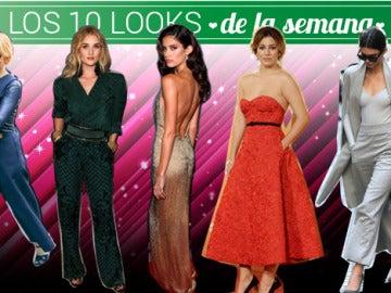 Los mejores 10 looks de la semana