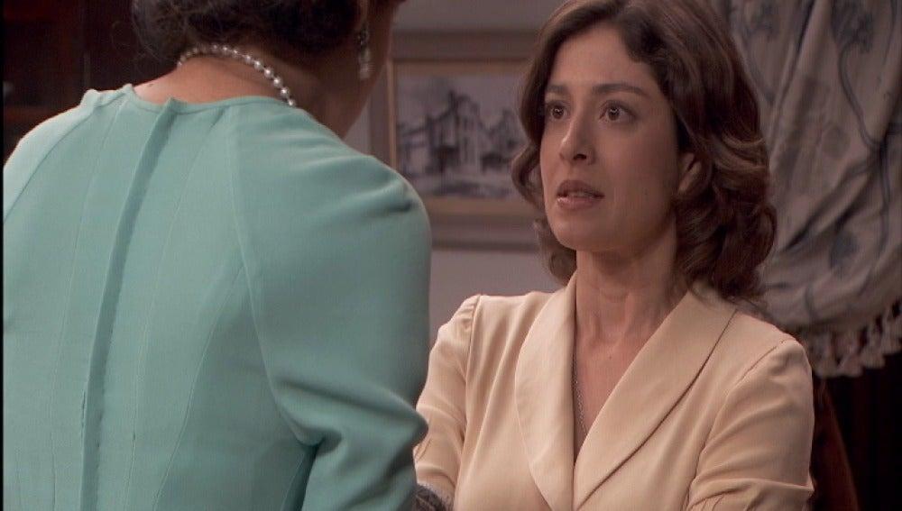Melisa le cuenta a Candela que Severo le ha pedido matrimonio
