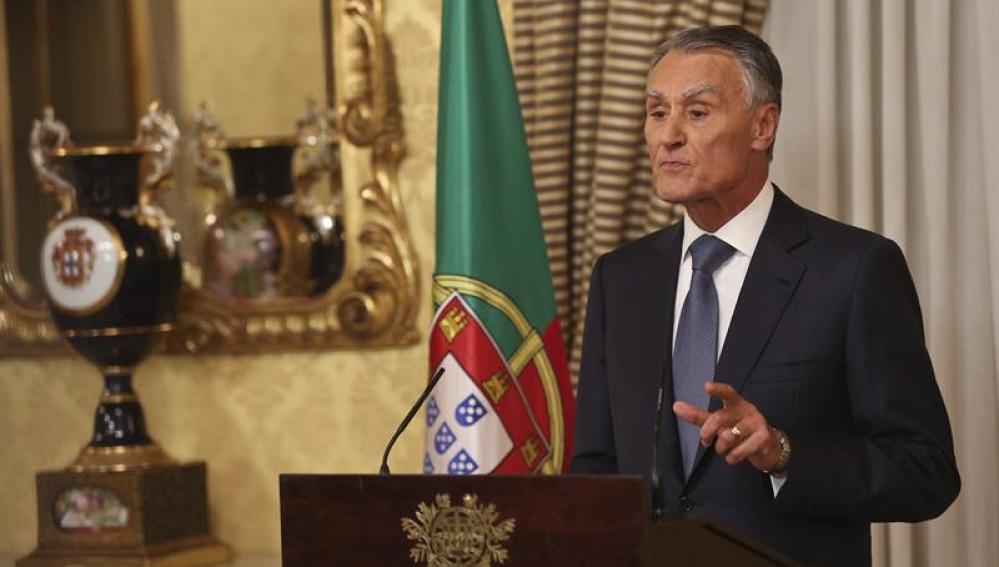 El presidente de Portugal, Aníbal Cavaco Silva