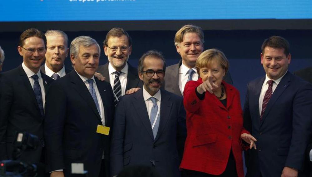 Foto de familia del Congreso del Partido Popular Europeo