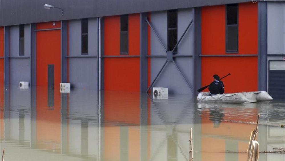 Inundaciones en Atenas