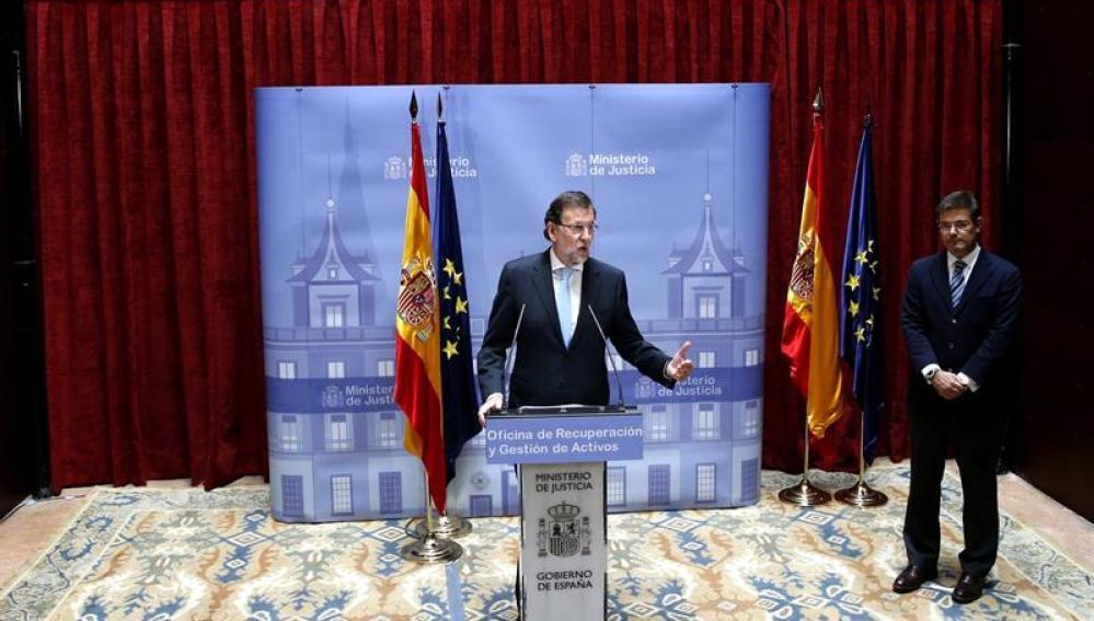 Mariano Rajoy inaugura la oficina contra la corrupciónMariano Rajoy inaugura la oficina contra la corrupción