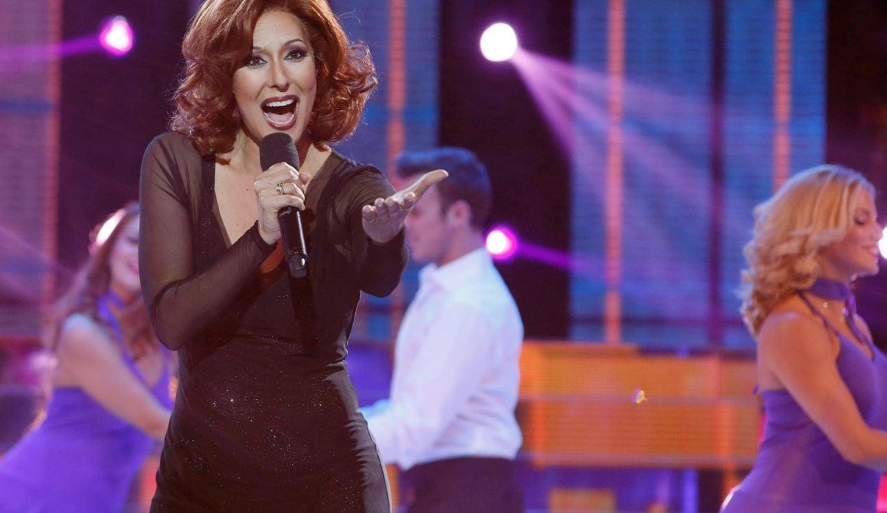 Chayo Mohedano se convierte en Rocío Dúrcal en 'Tu cara me suena'