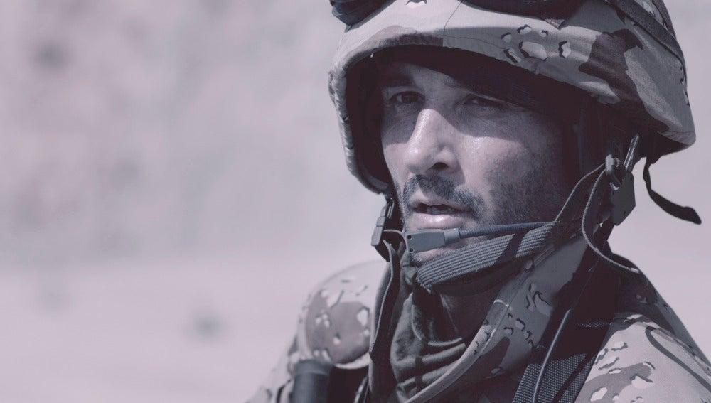 El capitán de Héctor en Afganistán
