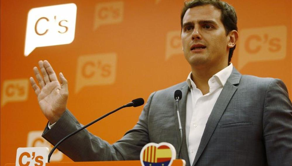 Albert Rivera, presidente y candidato de Ciudadanos