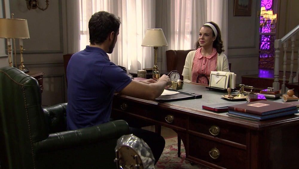 María intentará acercarse de nuevo a Miguel