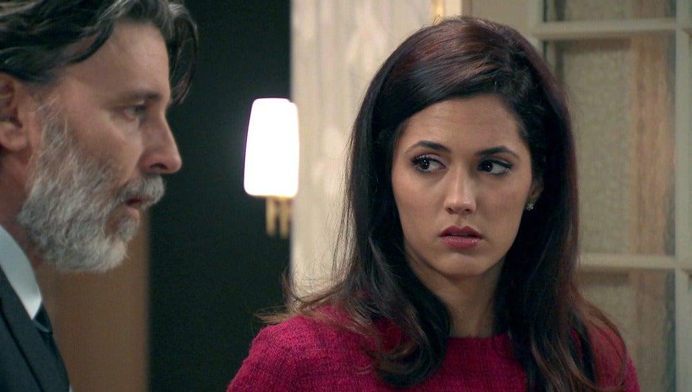 Tomás descubre que Sofía es su hija