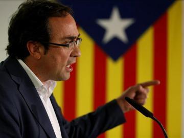 El coordinador general de Convergència, Josep Rull