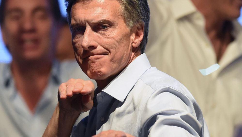El líder conservador Mauricio Macri