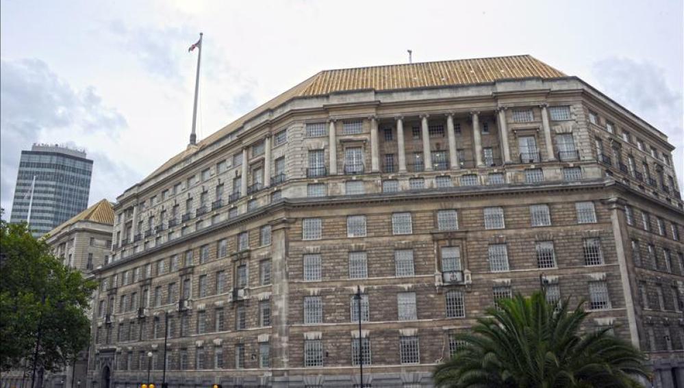 Casa Tamesis, oficina principal del servicio de inteligencia británico Mi5