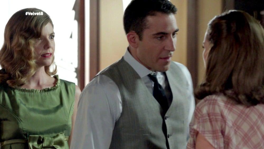 Cristina, Alberto y Ana