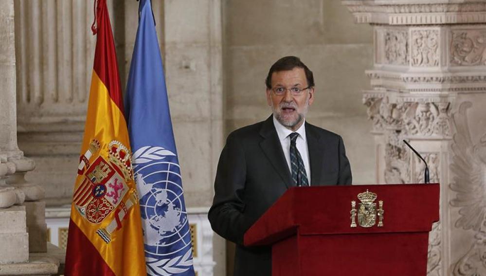 Rajoy, en el acto de conmemoración de España en la ONU