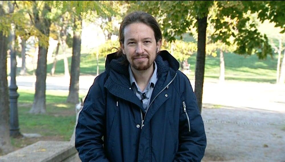 Pablo Iglesias, en Espejo Público