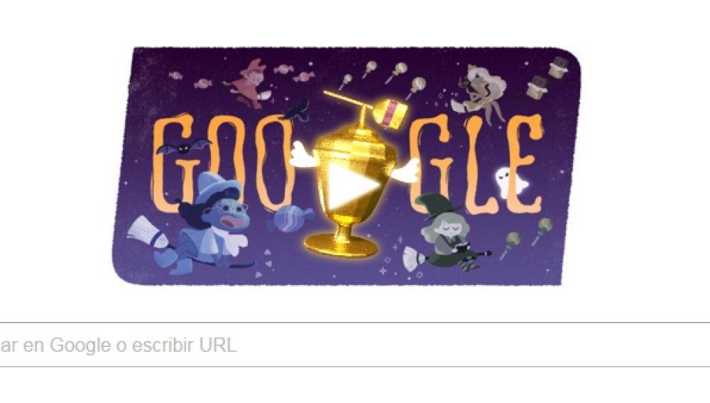 Halloween se cuela en el doodle de Google