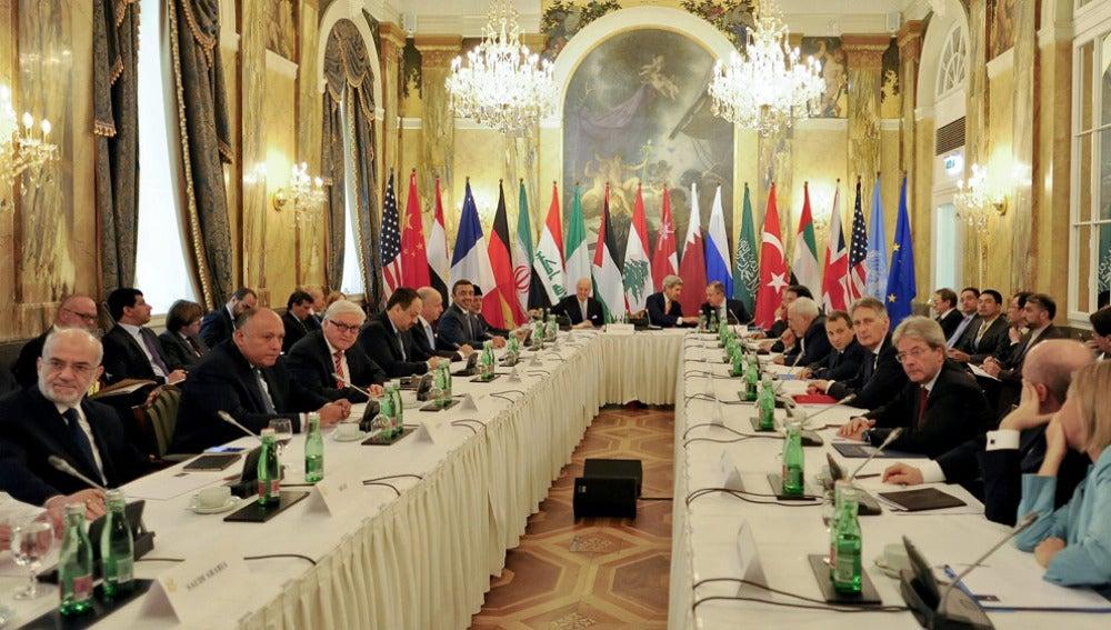 Cumbre sobre Siria en Viena