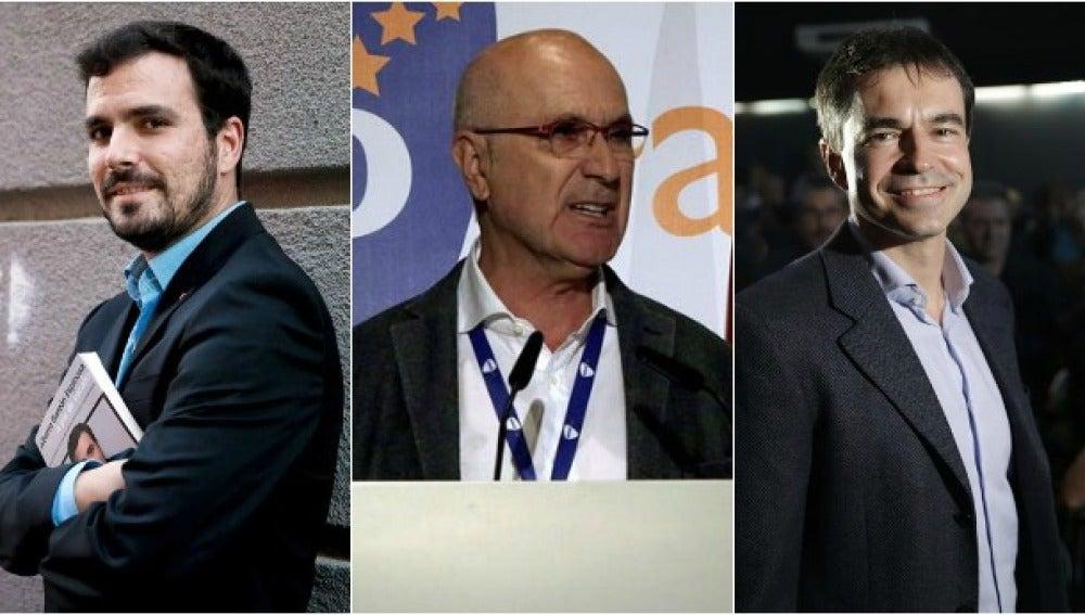 Garzón, Duran i Lleida y Herzog