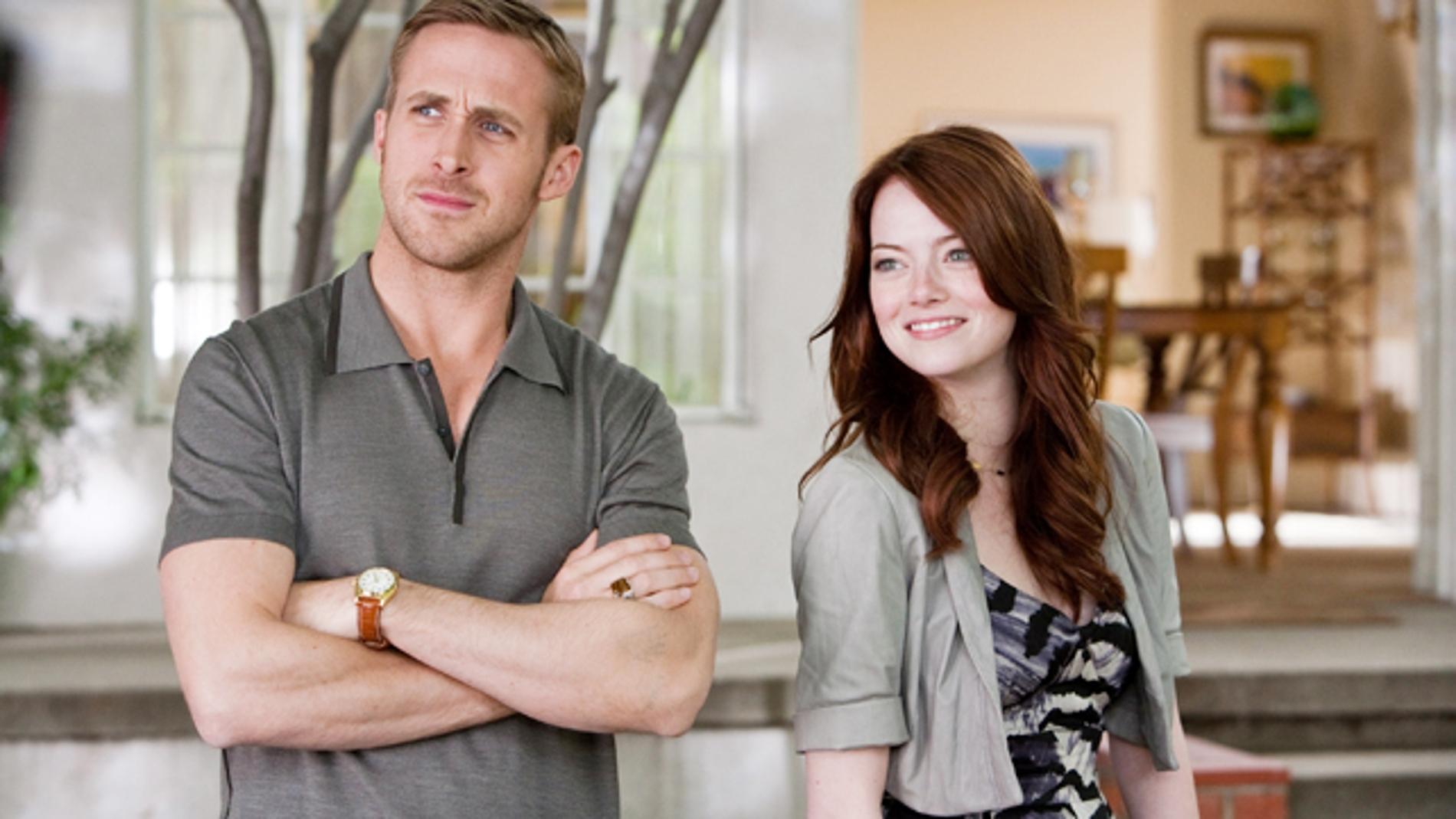 Ryan Gosling y Emma Stone en 'Crazy, Stupid, Love'