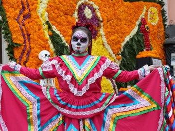 México se caracteriza por sus coloridos disfraces