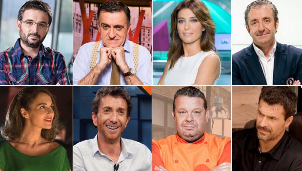 Audiencias octubre 2015
