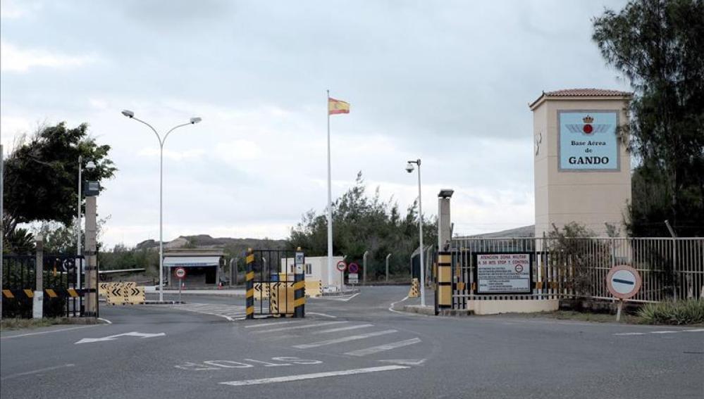 Base Aerea de Gando, en Gran Canaria